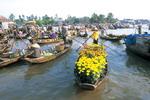 Cat Be Floating Market - Vinh Long
