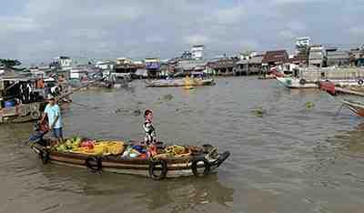 Ho Chi Minh - Canduoc - Cho Gao - My Tho