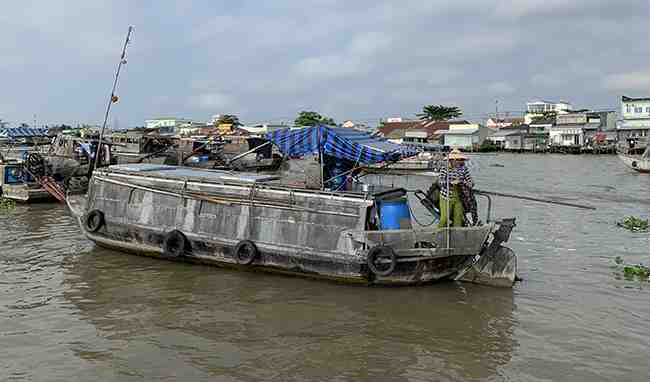 Ho Chi Minh City - My tho - Cai be- Sadec - Long Xuyen - Overnight on private boat